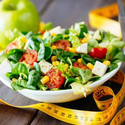 Fitness healthy salad