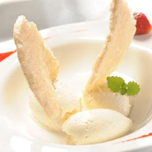 Lody waniliowo-jogurtowe